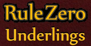 Rule Zero Underlings Logo