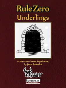 Rule Zero Underlings Cover